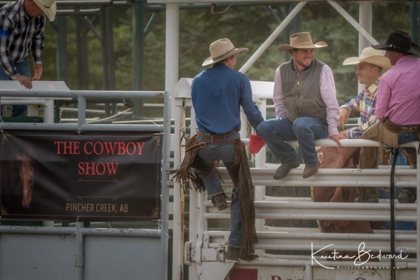 Cowboy Show Pincher Creek Ranch Rodeo