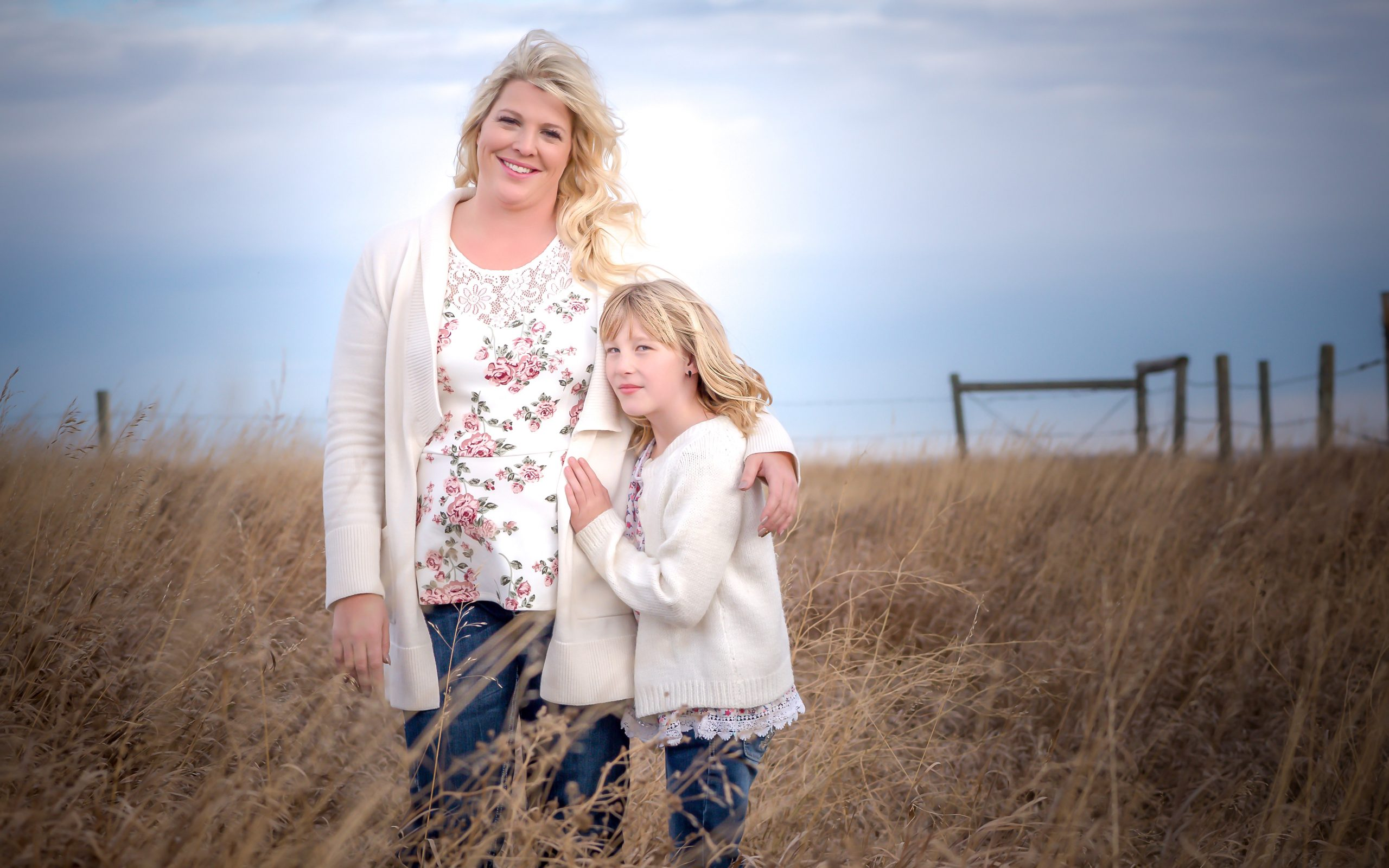 Portrait - Mother and Daughter