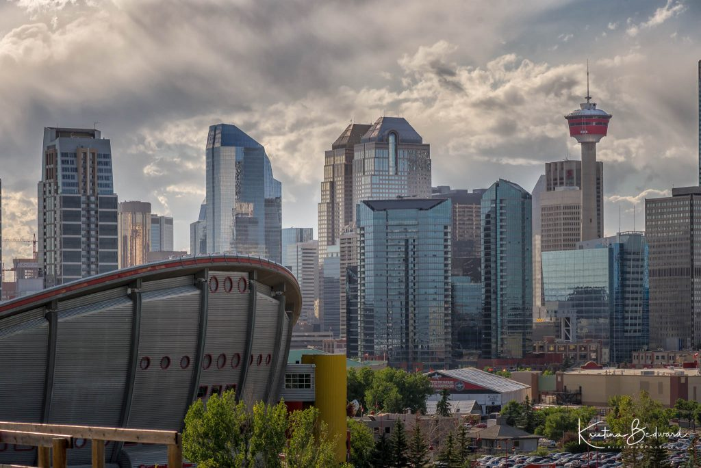 The ever changing Calgary skyline